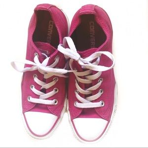 Converse Pink Low Top All Star Shoes
